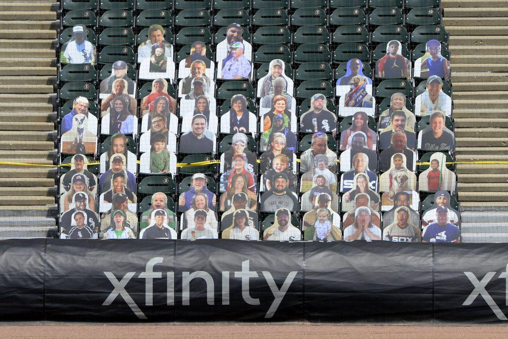 Tony Fremarek and Anthony Fremarek White Sox game 2020